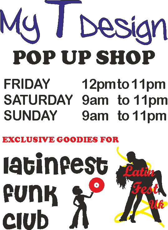 New to Latinfest: Pop Up Shop from My T Design