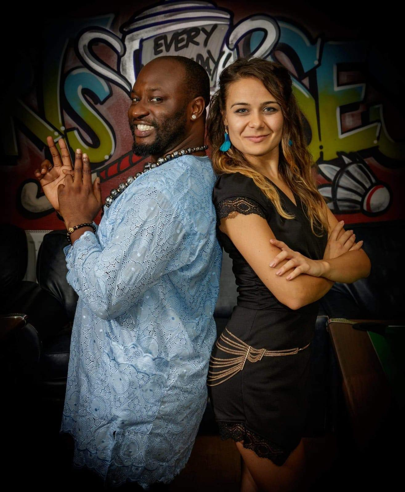 Welcoming to Latinfest in Feb…..Emmanuel & Janna (Kizomba/Semba)