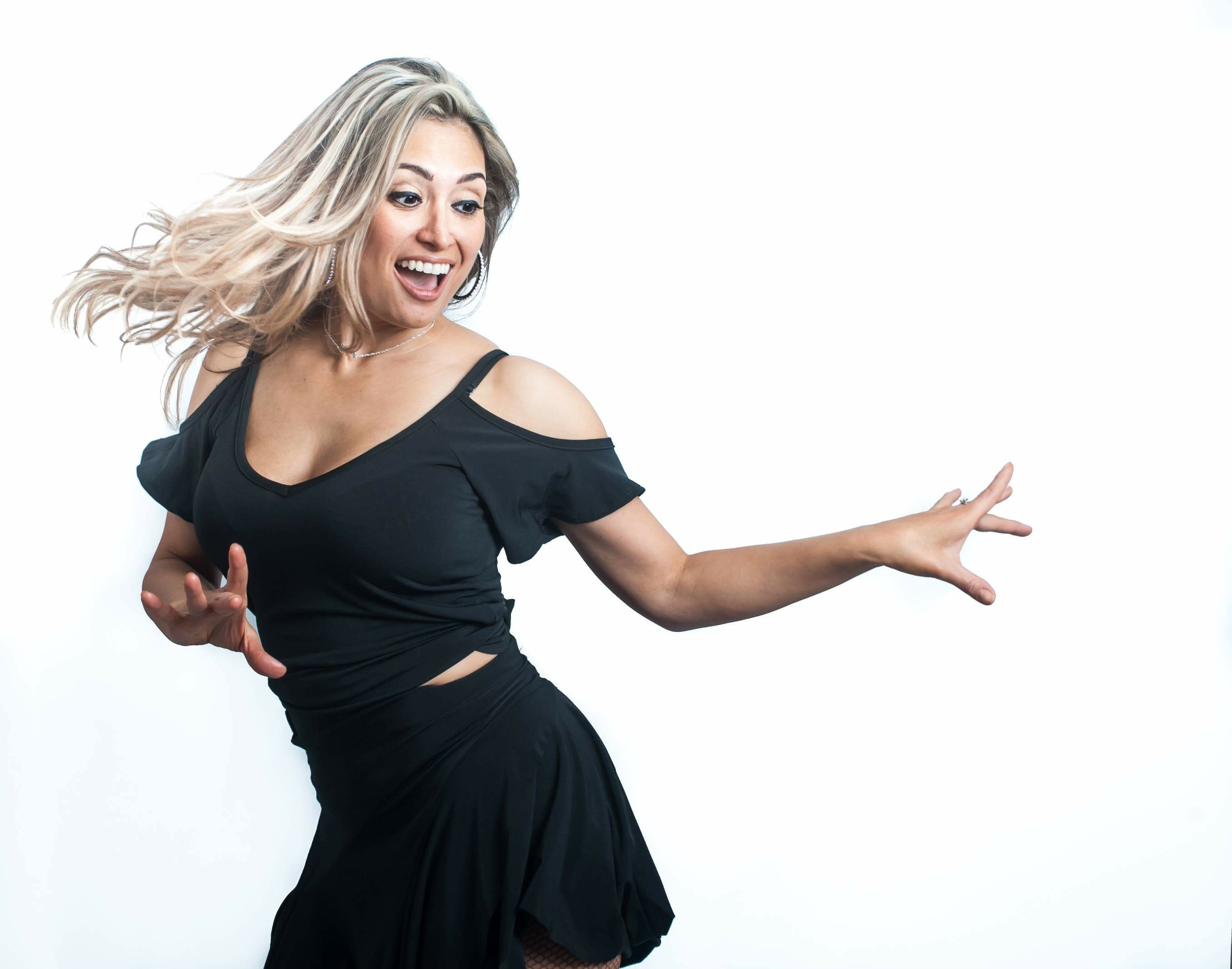 Welcoming back to Latinfest in Feb……Jennifer Benavidez (Salsa)