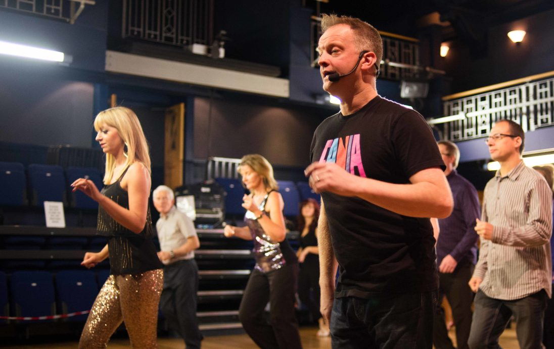 Look who's back in Sept teaching Cha Cha Cha…..its the ever popular Lee Hunter